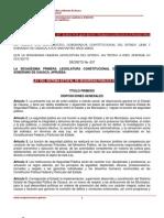 LEY DEL SISTEMA ESTATAL DE SEGURIDAD PÚBLICA DE OAXACA.