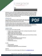Clearstate Analyst - job description