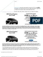2012 Ford Fusion | View Current Incentives & Offers | Ford.com