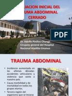 Evaluacion Inicial Del Trauma Abdominal Cerrado Final (1)