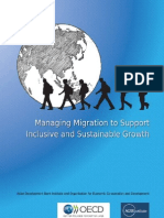 Managing Migration to Support Inclusive and Sustainable Growth