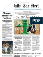 The Daily Tar Heel for January 11, 2013