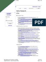 Quant Finance Articles
