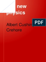 The new physics - Albert Cushing Crehore