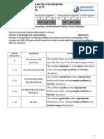 clarissa criterion a test ratio proportion arithmetical problem 2012 2013