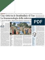 Pietro Citati Sui Miti - Corriere Della Sera 11.01.2013