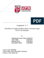 Power Electronics Assignment
