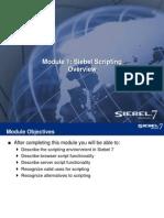 Scripting Siebel 7.7