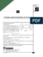 inverse trigo function