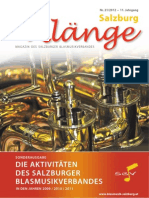 Salzburg Klänge Sonderausgabe 2012