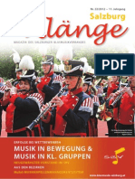 Salzburg Klänge 1/2012 - Ausgabe 22