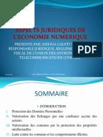 ASPECTS JURIDIQUES DE L'ECONOMIE NUMERIQUE