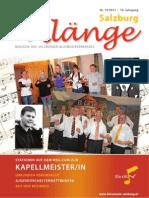 Salzburg Klänge 1/2011 - Ausgabe 19