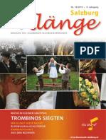 Salzburg Klänge 2/2010 - Ausgabe 18