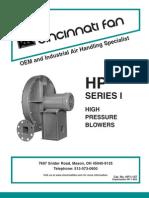 High Pressure Blowers 1