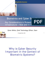 Biometrics and Cyber Security