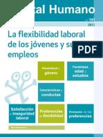 La Flexibilidad laboral de los jóvenes y sus empleos