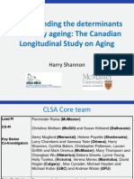 Canadian Longitudinal Study on Aging Loughborough Presentation