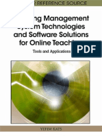 Learning Management System Technologies and Software Solutions for Online Teaching