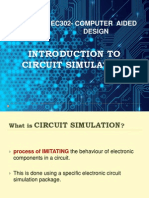Introduction to Circuit Simulation