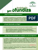 Dossier Andalucia profundiza