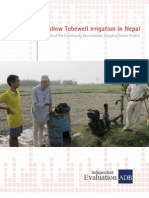 Shallow Tubewell Irrigation in Nepal