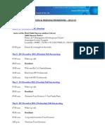 Orbitz Training & Induction Schedule