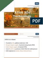 HDI Technology Presentation