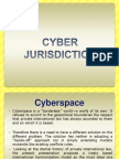 Jurisdiction Aspects in Cyber Space
