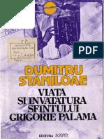 Viata si invatatura Sfantului Grigorie Palama_Dumitru Staniloae