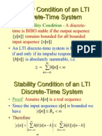 System's Stability