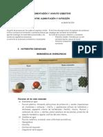 Alimentacion y aparato digestivo