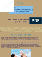 The Centre for Reproductive and Genetic Health