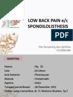 Low Back Pain - Kasus Poli