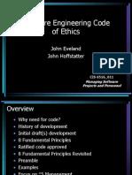 Talk Software Ethics