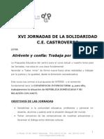 Proyecto Jornadas Solidaridad