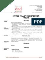 Curso Taller de Inspeccion Visual