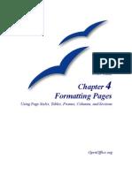 OpenOffice-FormattingPages