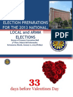 2013 Election Preparations v.01.11.13