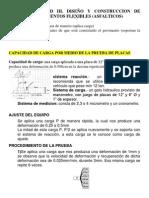 DISEÑO Y CONSTRUCCION DE PAVIMENTO FLEXIBLES