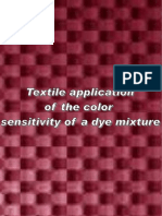 Textile Application of Color Sensitivity