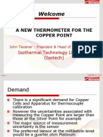 Copper Thermometer