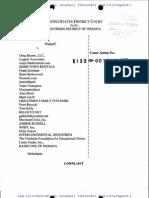 Richard Bell Complaint for Copyright Infringement - Bayer