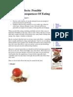Food Side Effects