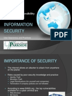 User Security Awareness