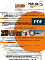 Asociación de Empresarios Turísticos de Cerler. Actividades Invierno 2012-2013 A3