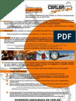 Asociación de Empresarios Turísticos de Cerler. Actividades Invierno 2012-2013 en A4