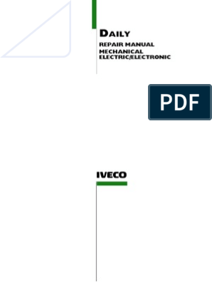 Iveco Daily Service Repair Manual | Electrical Connector ... on step ten worksheet daily, trucks daily, cool to do list daily,