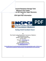Above-Ground Petroleum Storage Tank Manual & FIre Codes