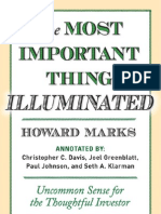 The Most Important Thing Illuminated, by Howard Marks